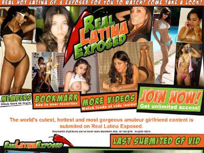 Sluts exposed latina